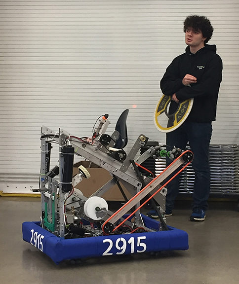 Riverdale's robot for the 2019 competitions