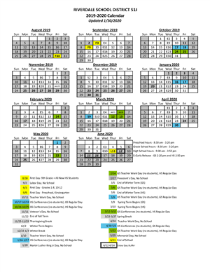 2019-20 year-at-a-glance calendar
