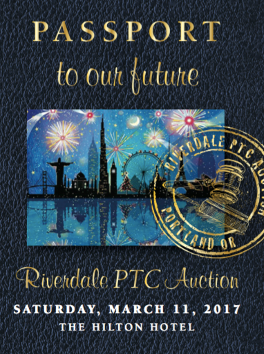 Image of Invitation to PTC auction that looks like a passport