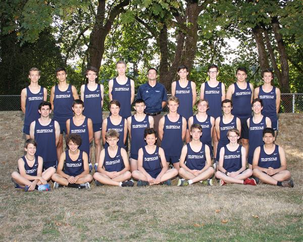 2017 Boys' Cross Country team