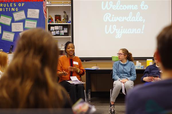 K-12 Diversity, Equity and Inclusion Fireside Chat with Wyjuana Montgomery