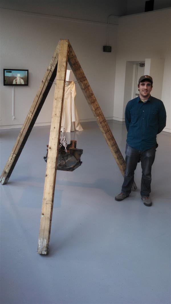 Scott Van Bergen (class of 2010) shows sculpture in PSU show