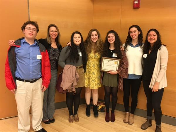 students who presented papers at the 2017 Young Historians Conference
