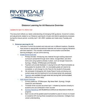 Distance Learning PDF