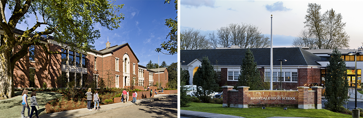 Riverdale Grade School and Riverdale High School